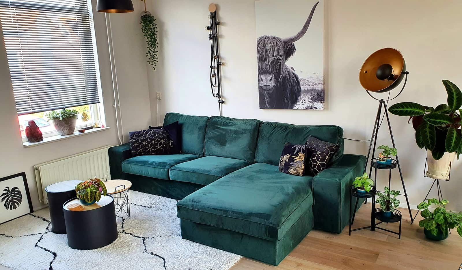 IKEA bankhoezen | NORSEMAISON | Kivik 2 zits met chaise Fluweel